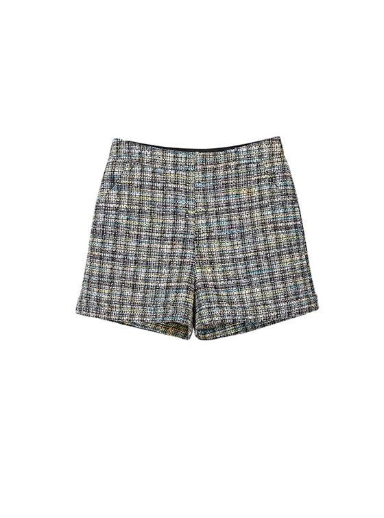 Tweed Short Pants in Black_VW8SL0760